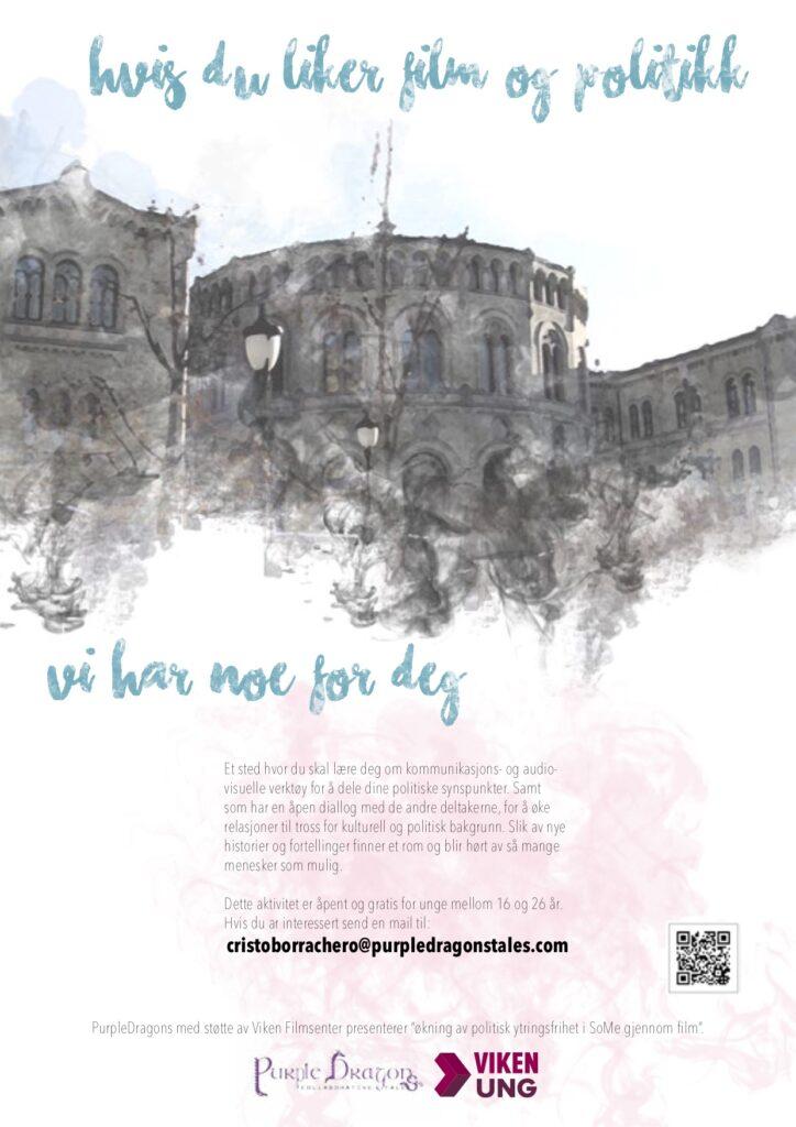 Flyer for a politic workshop