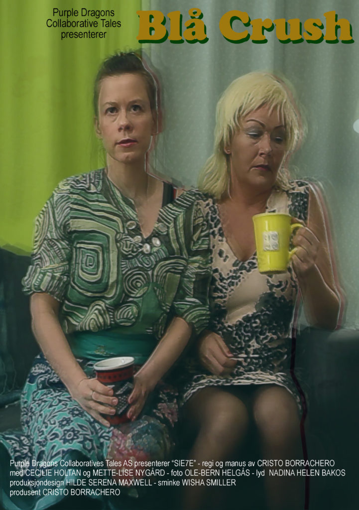 Movie poster for Blå Crush